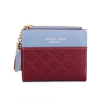 Женский кошелек DEABOLAR, красный П0138