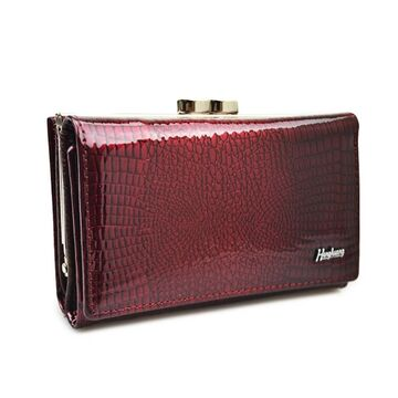 Женский кошелек HH, красный П2357