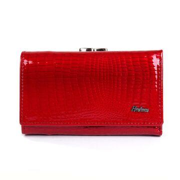 Женский кошелек HH, красный П2358