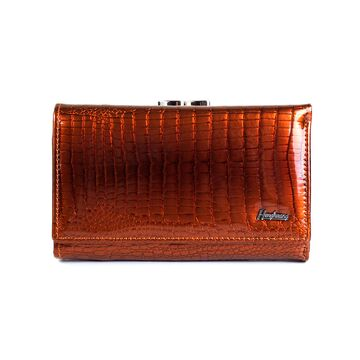 Женский кошелек HH, коричневый П2359