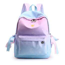 Женский рюкзак TuLaduo, голубой 2367