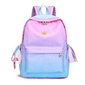 Женский рюкзак TuLaduo, голубой П2368