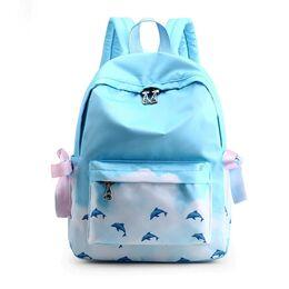 Женский рюкзак TuLaduo, голубой 2369