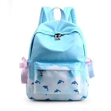 Женский рюкзак TuLaduo, голубой П2369