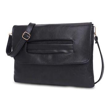 Женская сумка клатч, черная 2375