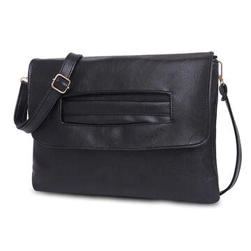 Женская сумка клатч, черная П2375
