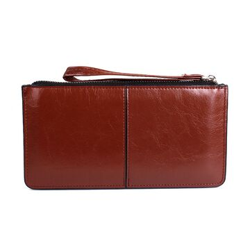 Женский кошелек, коричневый П2376