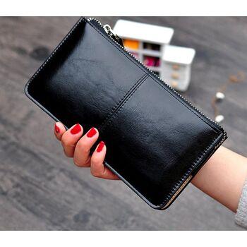 Женский кошелек, черный 2377