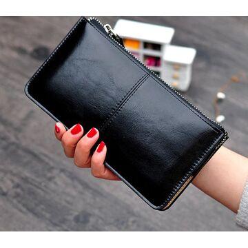 Женский кошелек, черный П2377