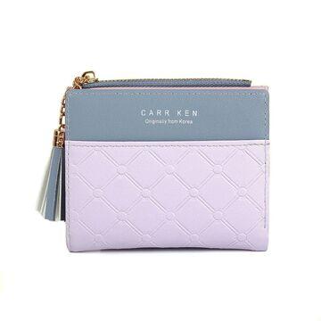Женский кошелек DEABOLAR, фиолетовый П0141