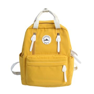 Женский рюкзак DCIMOR, желтый П2403