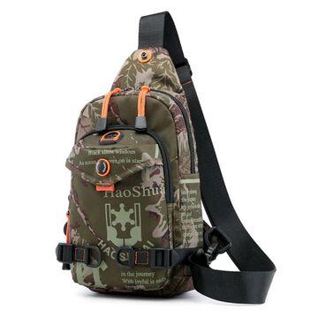 Мужская сумка на плечо, камуфляж П2417