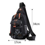 Мужские сумки - Мужская сумка на плечо, зеленая П2418