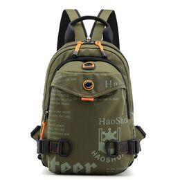 Мужская сумка-рюкзак, зеленая 2424