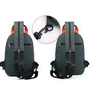 Мужские сумки - Мужская сумка-рюкзак, зеленая П2424
