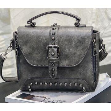 Женская сумка, серая П2427