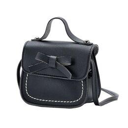 Детская сумка, черная 0146