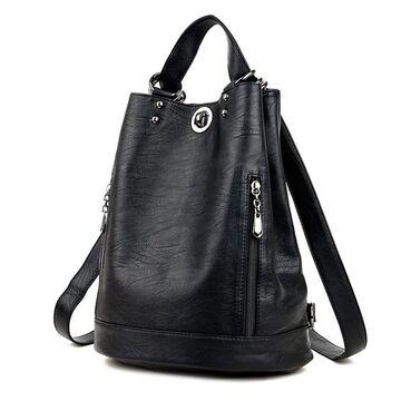 Женский рюкзак, черный П2431