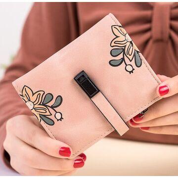 Женский кошелек City light, розовый П2435