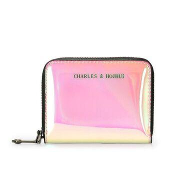 Женская визитница, розовая П2436