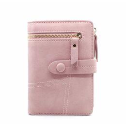 Женский кошелек City light, розовый 2443