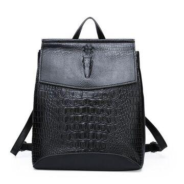Женский рюкзак, черный П2456