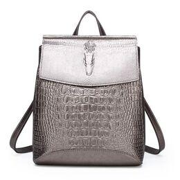 Женский рюкзак, золотистый П2457
