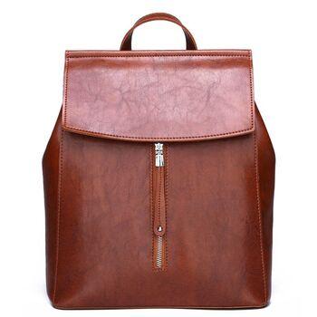 Женский рюкзак, коричневый П2459