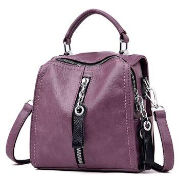 Женская сумка SAITEN, фиолетовая П2462
