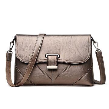 Женская сумка SAITEN, бронза П2463