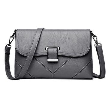 Женская сумка SAITEN, серая П2464