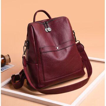 Женский рюкзак SAITEN, красный П2467