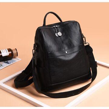 Женский рюкзак SAITEN, черный П2468