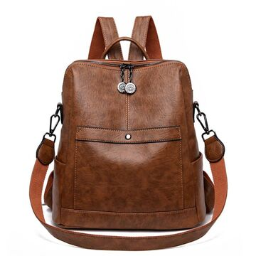 Женский рюкзак SAITEN, коричневый П2469