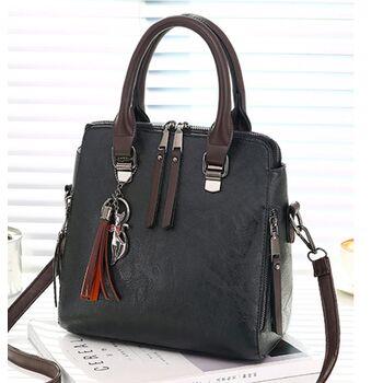 Женская сумка, черная 0150