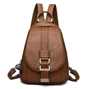 Рюкзак женский ACELURE, коричневый П2473