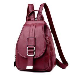 Рюкзак женский ACELURE, красный П2474