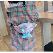 Поясные сумки - Детская сумка, бананка, зеленая П2478