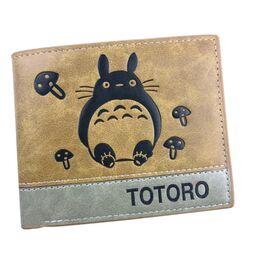 Мужской кошелек Тоторо, коричневый 2480