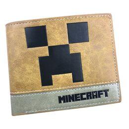 Мужской кошелек Minecraft, коричневый 2481