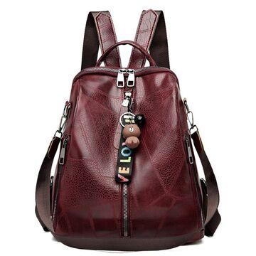 Женский рюкзак SAITEN, красный П2484