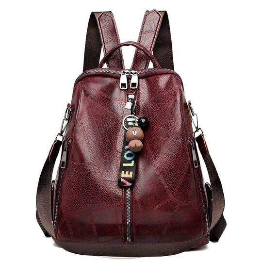 Женские рюкзаки - Женский рюкзак SAITEN, красный П2484