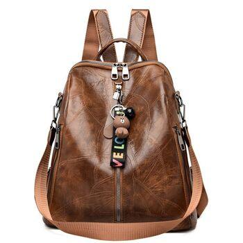 Женский рюкзак SAITEN, коричневый П2485