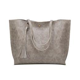 Женская сумка ACELURE, серая П2442