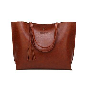 Женская сумка ACELURE, коричневая П2699