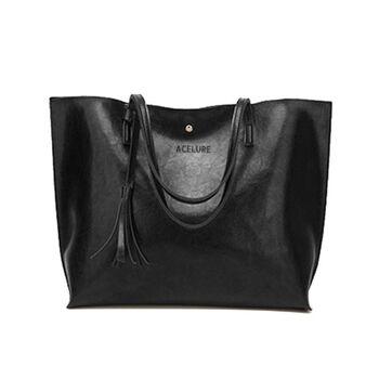 Женская сумка ACELURE, черная П2445