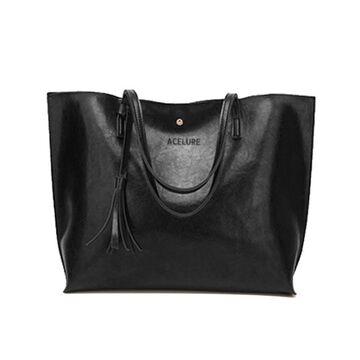 Женская сумка ACELURE, черная П2715