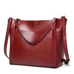 Женская сумка ACELURE, красная П2450