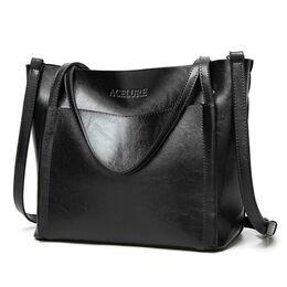 Женская сумка ACELURE, черная П2452