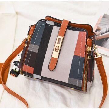 Женская сумка ACELURE, коричневая П2703